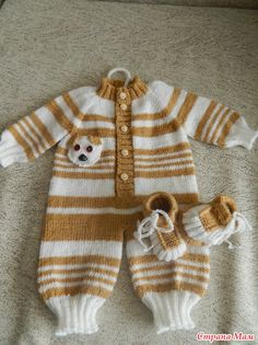 Knitted Doll Patterns, Knitted Dolls, Baby Knitting Patterns, Baby Patterns, Crochet Toddler Dress, Knit Baby Dress, Baby Cardigan, Knitting Dolls Clothes, Crochet Doll Clothes