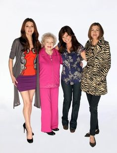 Hot in Cleveland on TV Land. It's laugh-out-loud funny!