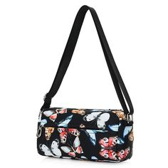 783bb32048 Women Messenger Bags Print Floral Cross Body Shoulder Canvas Hobo Bag Nylon  Oxford Fabric Women s Handbag Bolsas Femininas