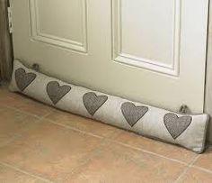 Todays tip: You could be loosing between 5% to 30% of heat through that gap under your door. Place a draft snake under your drafty door for a quick and easy solution. If you don't have a draft snake place a rolled up towel for an immediate solution. www.insulex.ie