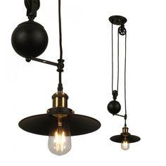 ΚΡΕΜΑΣΤΟ ΦΩΤΙΣΤΙΚΟ ΡΥΘΜΙΖΟΜΕΝΟ VINTAGE Ε27 ΜΕΤΑΛΛΙΚΟ ΜΑΥΡΟ V-TAC SKU: 3845 - Light Point Keep The Lights On, Pendant Lamp, Floor Lamp, Amber, Chandelier, Table Lamp, Ceiling Lights, Led, Lighting