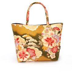 3 outing bag net bag Art [flower brocade]