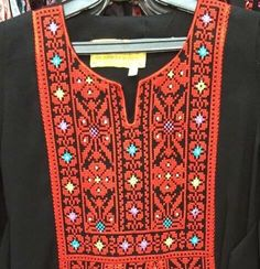 A personal favourite from my Etsy shop https://www.etsy.com/uk/listing/267757893/girls-traditional-palestinian-dress-thob