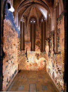 Miquel Barceló - Palma de Mallorca cathedral - A chapel completely made out of contemporary ceramics
