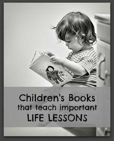 List of the best children's books for teaching lessons