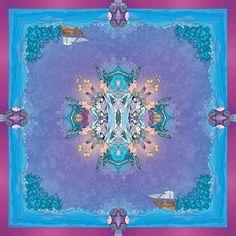 Scarfs from Sofia Gritsyuk by Sofia Gritsyuk, via Behance