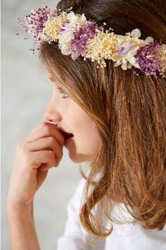 Corona de flores niña #deladosaladoce