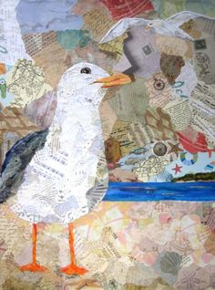 Wanda Edwards: Beach Birds – The Little Beach Gallery