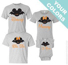 GLITTER Disney Halloween Shirts . Disney Family Shirts . Mickeys Not So Scary…