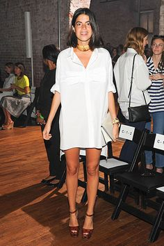 Spring 2014 Front Row Pictures - Pictures from New York Fashion Week Spring 2014 Front Row - Harper's BAZAAR