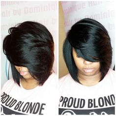 Buy Ladies Short Straight Bob Synthetic Hair Heat Resistant Natural Women's Wigs + free wig cap at Wish - Shopping Made Fun Love Hair, Gorgeous Hair, Short Hair Cuts, Short Hair Styles, Hair Laid, My Hairstyle, Relaxed Hair, Synthetic Hair, Hair Dos