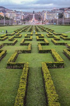 Eduardo VII Park Lisbon Portugal in the Winter // Orlando Agostinho