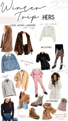 What I Want For My Winter Trip: His + Hers - Blessed and Overdressed Winter Outfits, Ski Outfits, Summer Outfits, Cute Outfits, Women's Summer Fashion, Winter Fashion, Fashion 2020, Winter Looks, Cold Weather Outfits For School