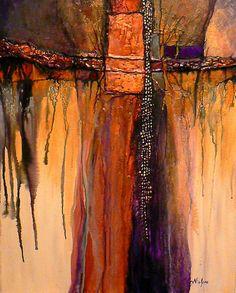 Abstract Fine Art | ... and mixed media abstract © Carol Nelson Fine Art, Colorado, USA