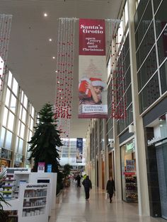Centre:MK in mall banners