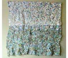 Barbara Wisnoski... made from recycled fabric and clothing