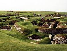 Skara Brae -It consists of eight clustered houses, and was occupied from roughly 3180 BCE–2500 BCE.