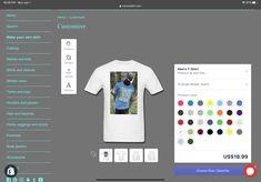 18.99 free shipping you can make your own shirt Make Your Own Shirt, How To Know, How To Make, Your Design, Free Shipping, Hoodies, Sleeves, T Shirt, Supreme T Shirt