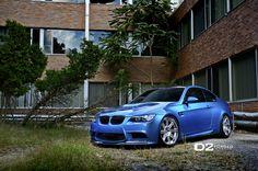 Atlantis Blue BMW M3 on D2FORGED CV13 Wheels