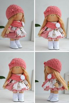 Handmade doll toy Tilda doll Interior doll by AnnKirillartPlace