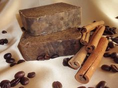 Coffee & Cinnamon Hand-made soaps....delicious