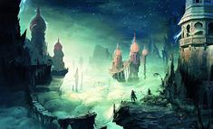"""Concept Art from Ubisoft's """"Prince of Persia"""""""