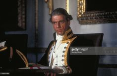 English actor Edward Fox as Captain Greetham in the film 'The Bounty'... News Photo | Getty Images