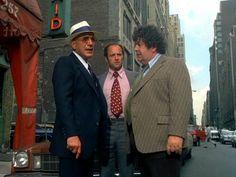 Kojak, Stavros (Telly & George Savalas) & Crocker (Keving Dobson)