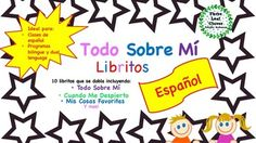 Students will enjoy writing about themselves and their interests in these fun foldable Spanish mini books. They are easy to assemble since there is no need to cut and staple! Simply fold the papers and your students have their own All About Me themed books.