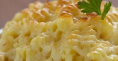 Cheesy Baked Mac and Cheese