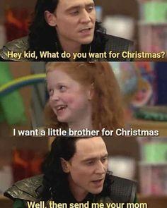 Hey so I've never done one of these before but here is a Loki dirty w… Loki Thor, Loki Laufeyson, Tom Hiddleston Loki, Marvel Avengers, Loki Funny, Funny Marvel Memes, Avengers Memes, Loki Meme, It's Funny