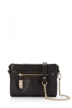 606b0b04345f Rebecca Minkoff Mini Crosby Crossbody - Black with gold hardware. Purse  Styles
