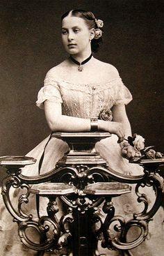 Queen Olga of Greece, while Grand Duchess Olga Constantinovna of Russia