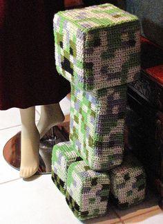 Crocheted Minecraft Creeper | Flickr - Photo Sharing!