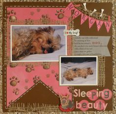 Sleeping Beauty - Scrapbook.com