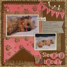 Sleeping Beauty - Scrapbook.com