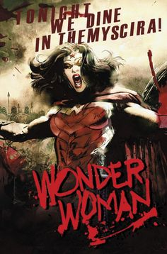 DC March 2015 Variants Wonder Woman #40 inspired by 300, with cover art by Bill Sienkiewicz