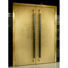 China Copper and Bronze Entry Door Manufacturer & Supplier Entry Doors For Sale, Modern Entrance Door, Modern Door, Gate Design, Door Design, Refrigerator Panels, Art Deco Door, Cool Doors, Modern Art Deco