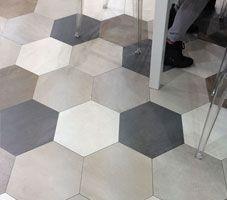 Domus 15x15 Hexagonal Tile by Euro Ceramic Tile