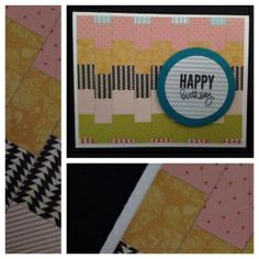 Give your next card a unique look with the bargello technique!