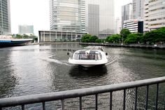 Sea Bus might be the good choice to do sightseeing in Tokyo where it runs through the rivers inside the town. Enjoy different city view.