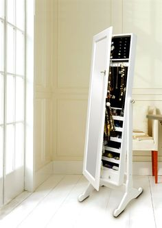 Luxury Free Standing Jewellery Cabinet