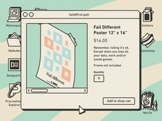 Unnecessary Stuff for your life designed by Gustavo Zambelli. Connect with them on Dribbble; Graphic Design Posters, Graphic Design Inspiration, Life Design, Web Design, Desktop, Note Doodles, Overlays Picsart, Yearbook Covers, Bullet Journal Font
