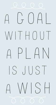 quote wish-plan-goal