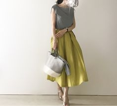 Office Fashion, Work Fashion, Skirt Fashion, Trendy Fashion, Korean Fashion, Fashion Dresses, Womens Fashion, Fashion Trends, Japan Fashion