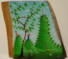 """""""me 03"""" Paweł Widera original paintings, acrylic on wood"""