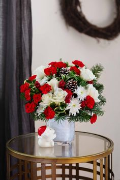 Send a Hug Bear Buddy Bouquet by Teleflora Christmas Flowers, Christmas Gifts, Holiday, Sending Hugs, Local Florist, Christmas Centerpieces, Tents, Flower Arrangements, Florals
