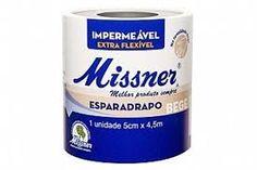 Esparadrapo 5cm x 4,5m Impermeável - Missner BioClassi