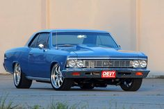 1966 Chevy Chevelle SS 427 Pro-Touring. Awesome American Muscle!