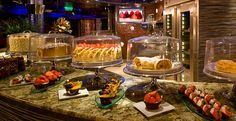 Life is short eat dessert first...aboard the Carnival Valor cruise.   Delicious treats that go great with your coffee.